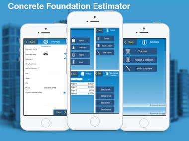 CFE (Concrete Foundation Estimator)