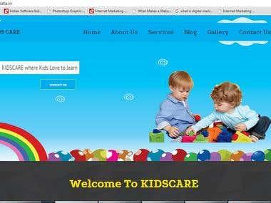 http://kidscarekolkata.in/  a Montessori / PlaySchool etc