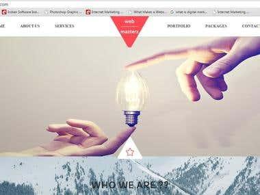 http://webmazterz.com/ || A Corporate Site for a Company
