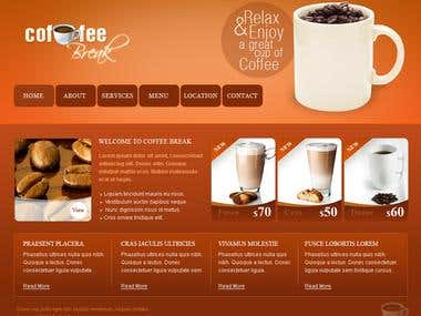 Coffee web site