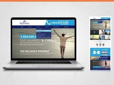 Reliance  Website