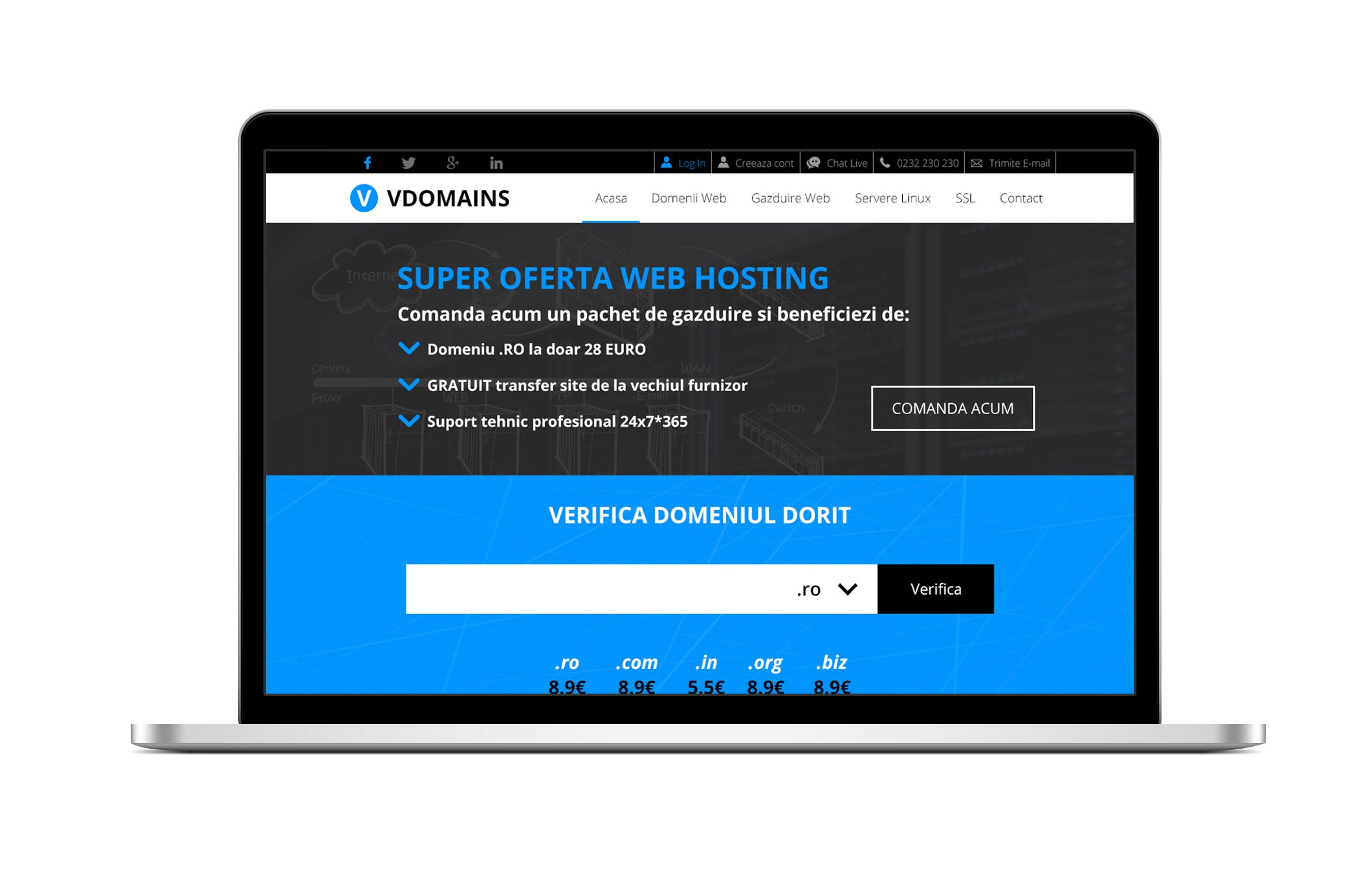 VDOMAINS