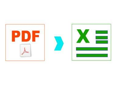 Convert PDF to 01 of other 08 file types