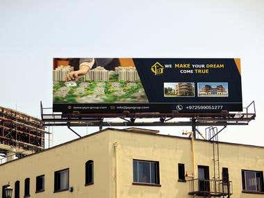 Billboard Design for a Real Estate