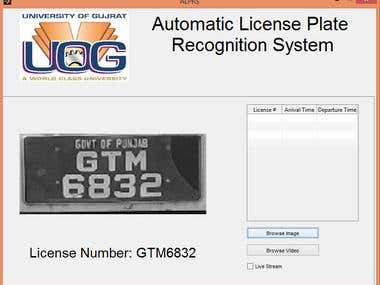 Automatic License Plate Recognition System Using Matlab