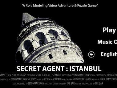 Secret Agent: Istanbul - A Role Modeling Video Adventure and