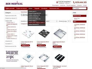 Medical online shop