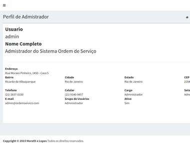 Sistema de Gerenciamento de Ordem de Serviço