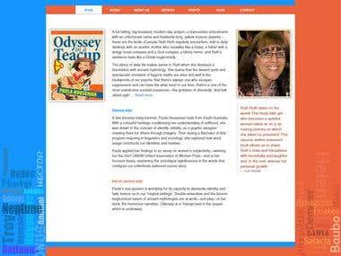 A Responsive  Website