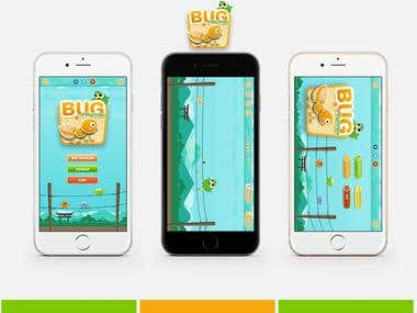 Bug Runner game for iOS and Android