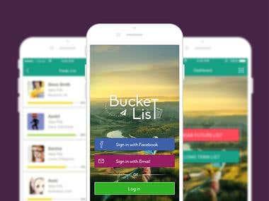 Bucketlist iOS App