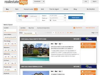Real estate scraping