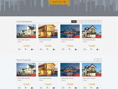 Greek Property Exchange Website Design