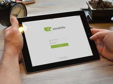 Zenshifts App Design