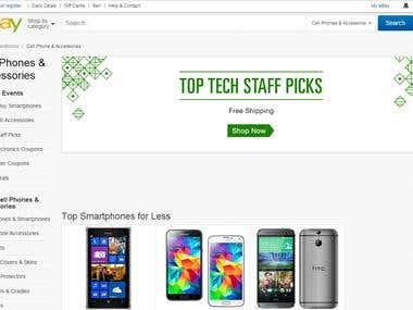 E-commerce web scraping