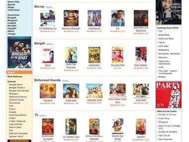 Sell online CD,DVD