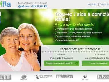 Oxilia.fr - Senior care service