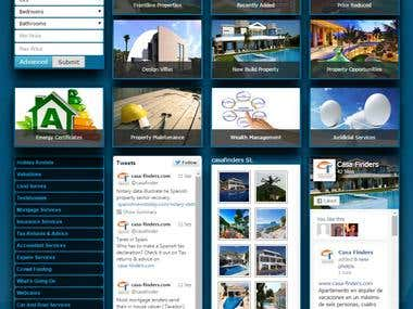 Joomla Real Estate Website