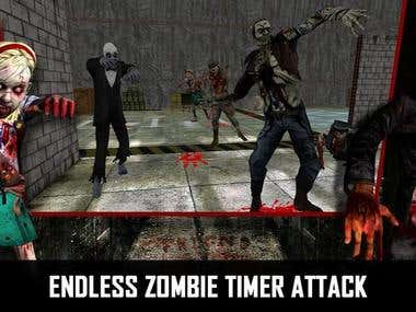 Evil Death Duty - Zombies War - 3D Game using Unity 3D