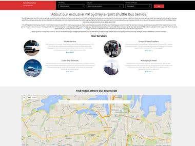 Go Sydney Shuttle Custom PHP