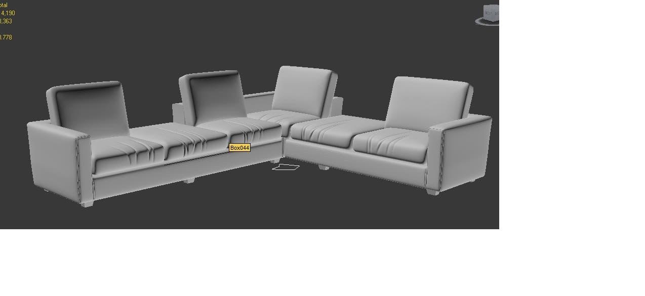 3D Furniture Modelling