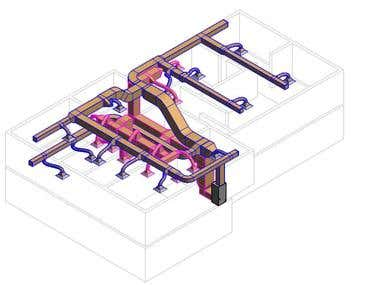 HVAC Duct System Design Project