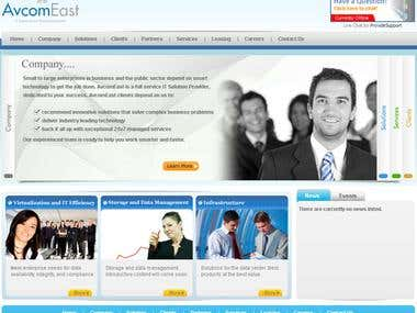 Website for IT solution for Today\'s Economy