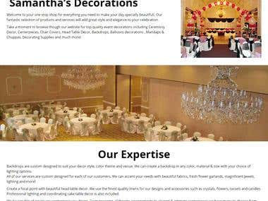 Hall Decoration Company