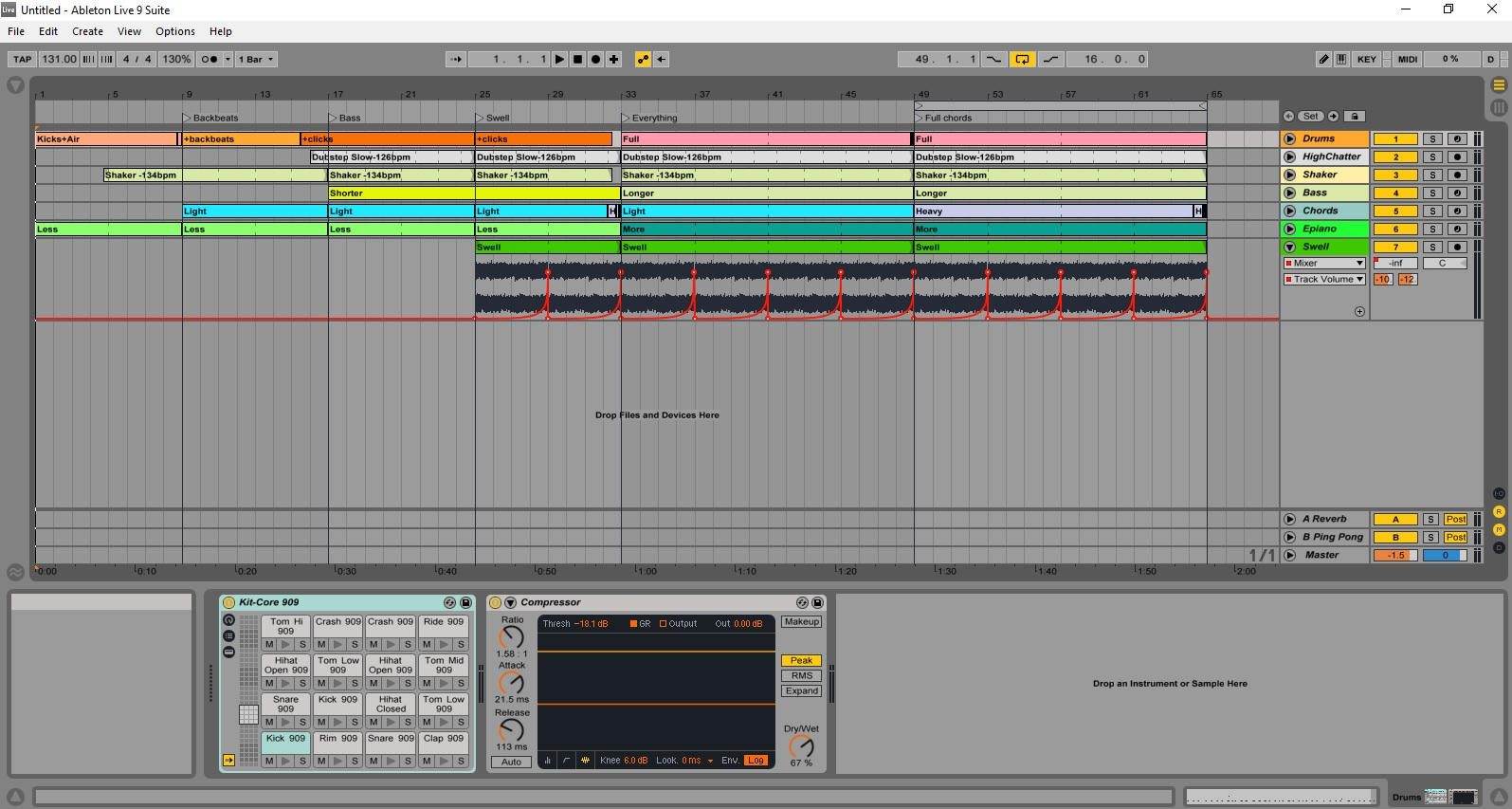 Ableton Live Session
