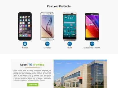 TG Wireless Web Design