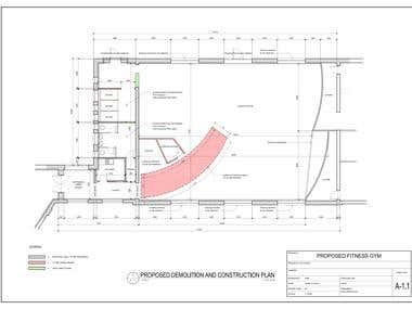 Proposed Fitness and Martial Arts Gym
