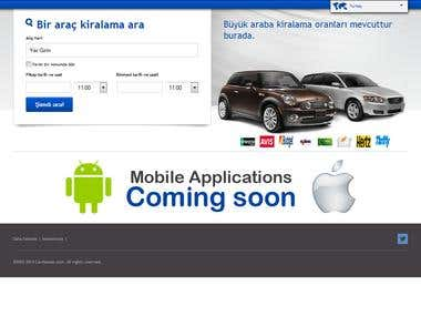 Car Rentals Search Website