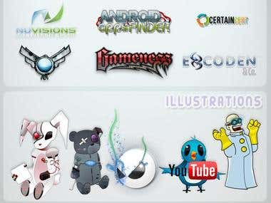 Logo & Illustration Compilation