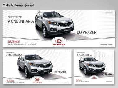 KIA Motors - campanha Publicitária