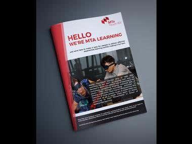 Catalogue Design - MTA Learning kit