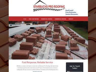 Starbucks Pro Roofing