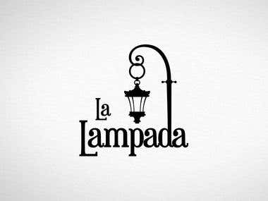 Logotype for La Lampada
