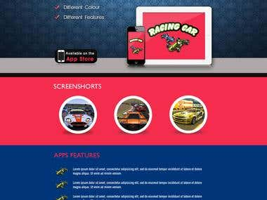 Racing car App