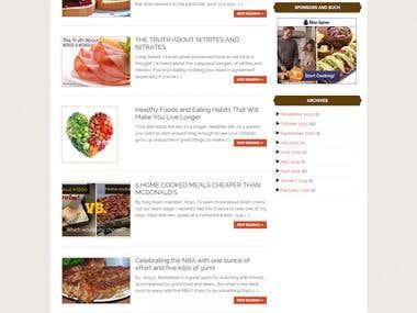 WordPress Website for Brother Kitchen