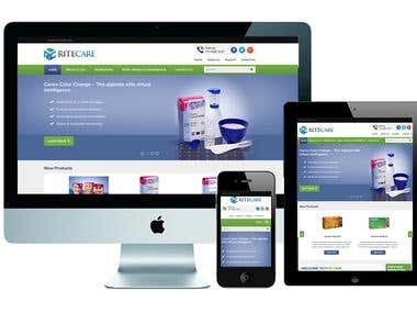 Wordpress Surgical Product Website