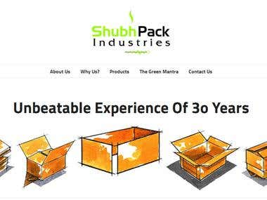 Shubh Pack Website