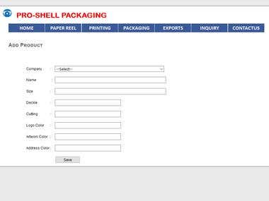 ERP for Pro-Shell Packaging