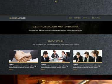 Black Emerald Consulting Company