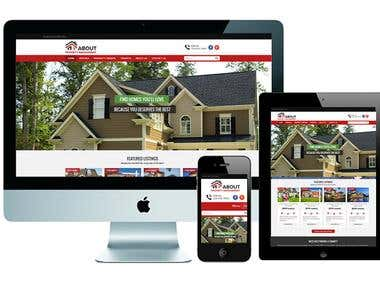 Property Management Website Based on Wordpress