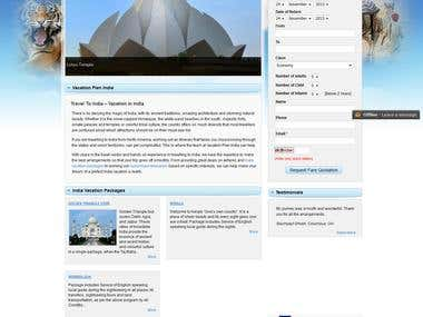 Vacation Plan India