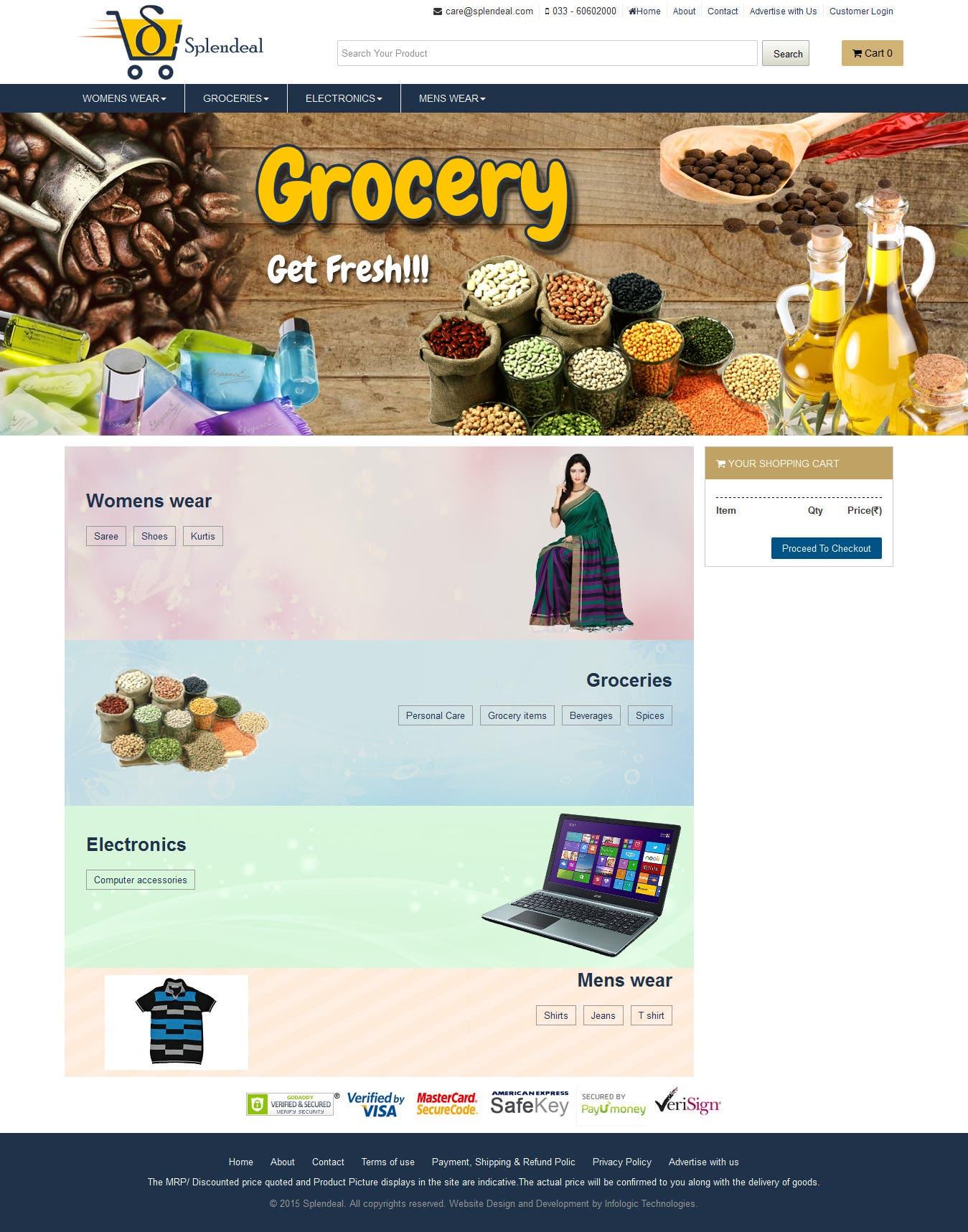 Splendeal (Online Marketplace site