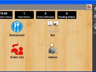 Android based Restaurant & Bar App