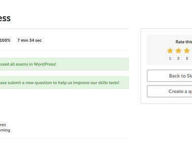 WordPress Freelancer Certification
