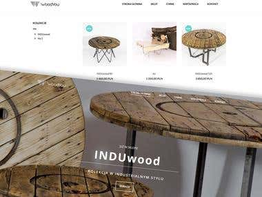 Online furniture shop for WoodYou