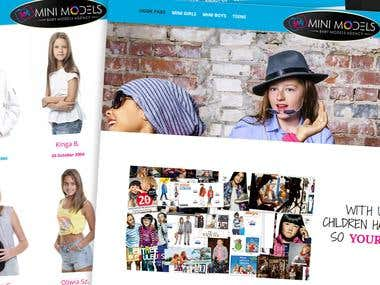 Website for children agency